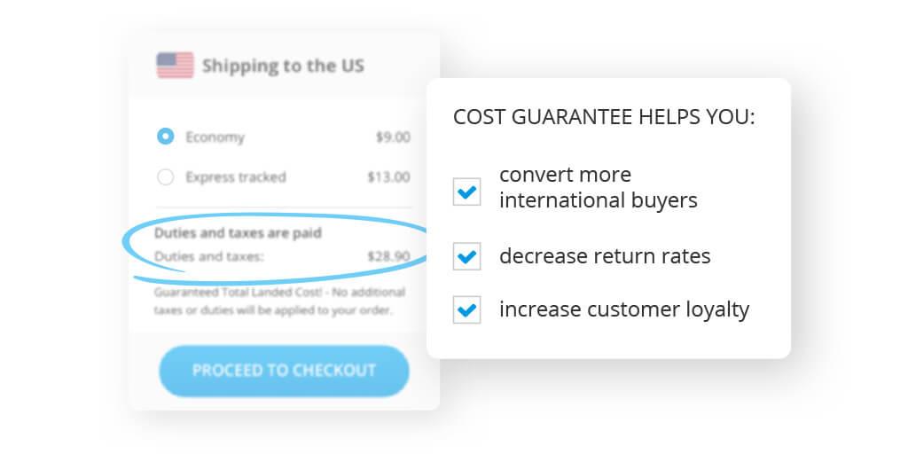 global ecommerce cost guarantee